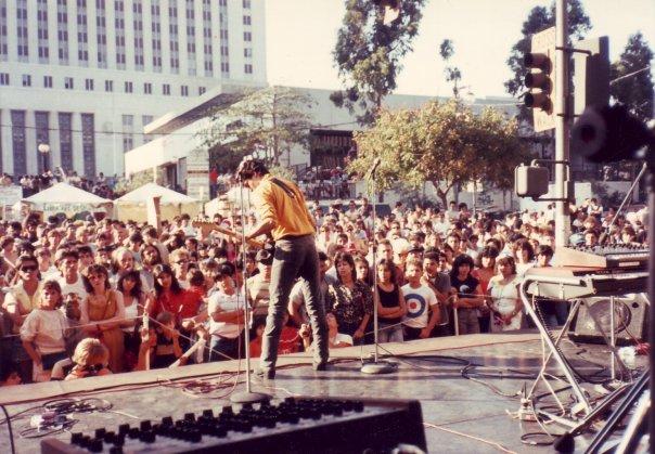Los Illegals in 1984.