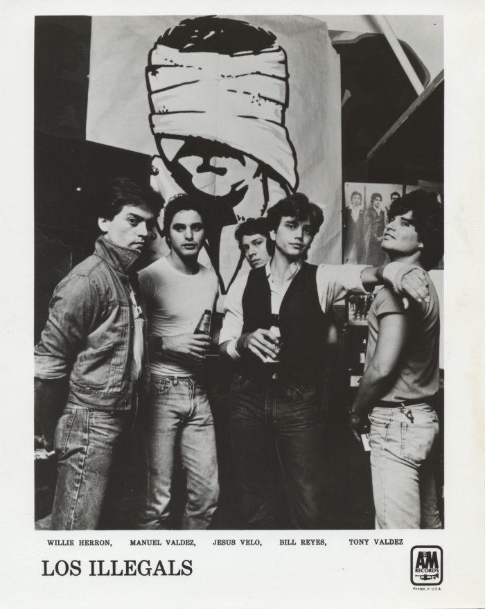 Los Illegals in 1981.