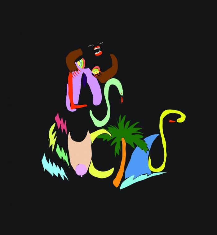 Las Sucias album artwork by Chaveli Sifre