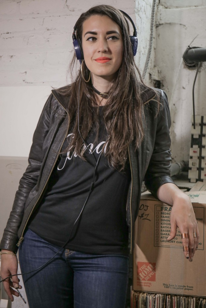 Radio Menea host Verónica Bayetti Flores