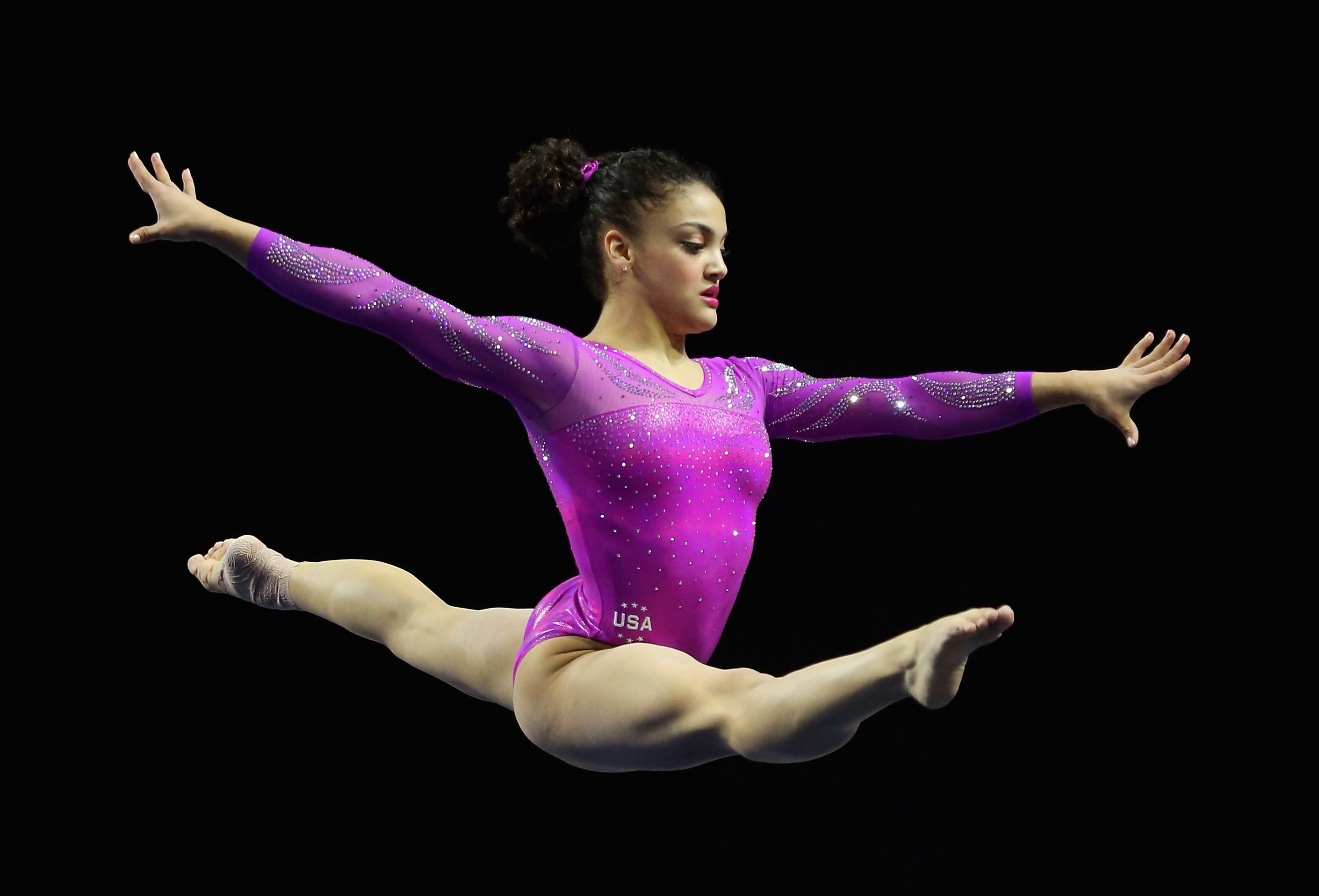Laurie Hernández Is the Second Puerto Rican Gymnast to Represent Team USA at the Olympics