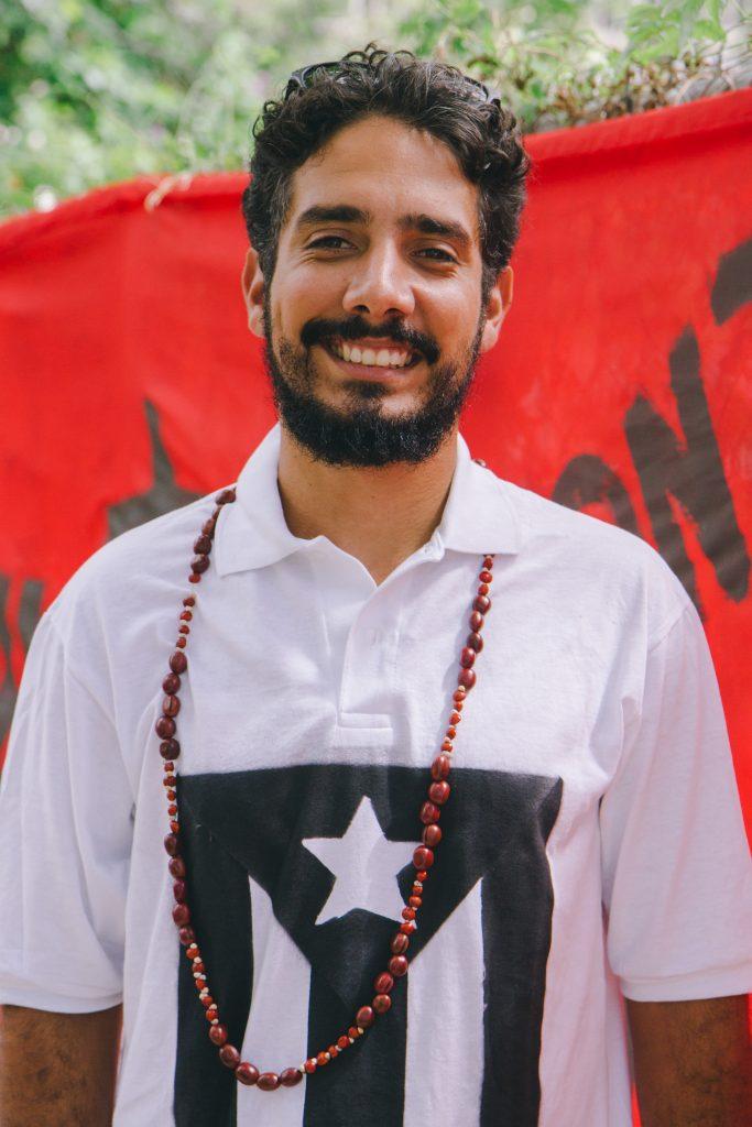 Victor Pagán, 28, Organization Committee & Spokesman