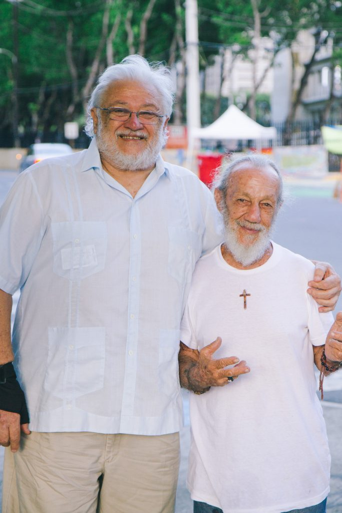 Ramon Figueroa, 74, Solidary with the camp