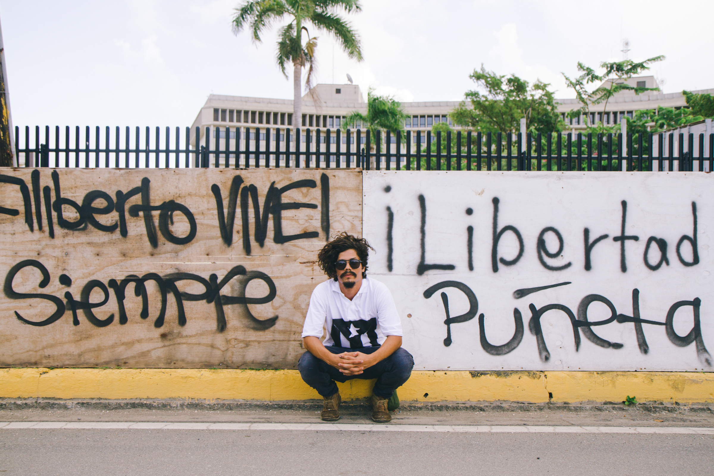 Young Boricuas Have Been Camped Out For a Month Protesting PROMESA. Meet the Faces Behind the Movement.