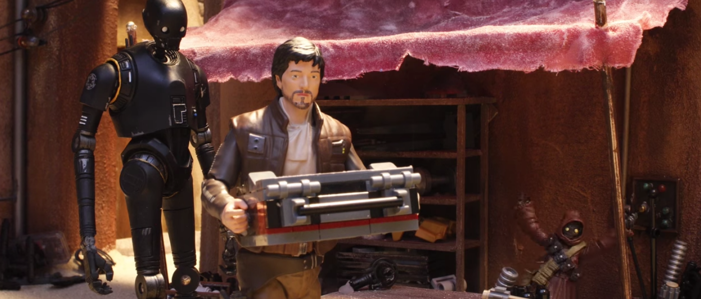 'Star Wars' Blessed Us With This Diego Luna Action Figure