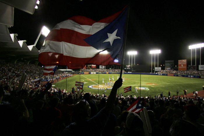 puerto rico flag baseball sports
