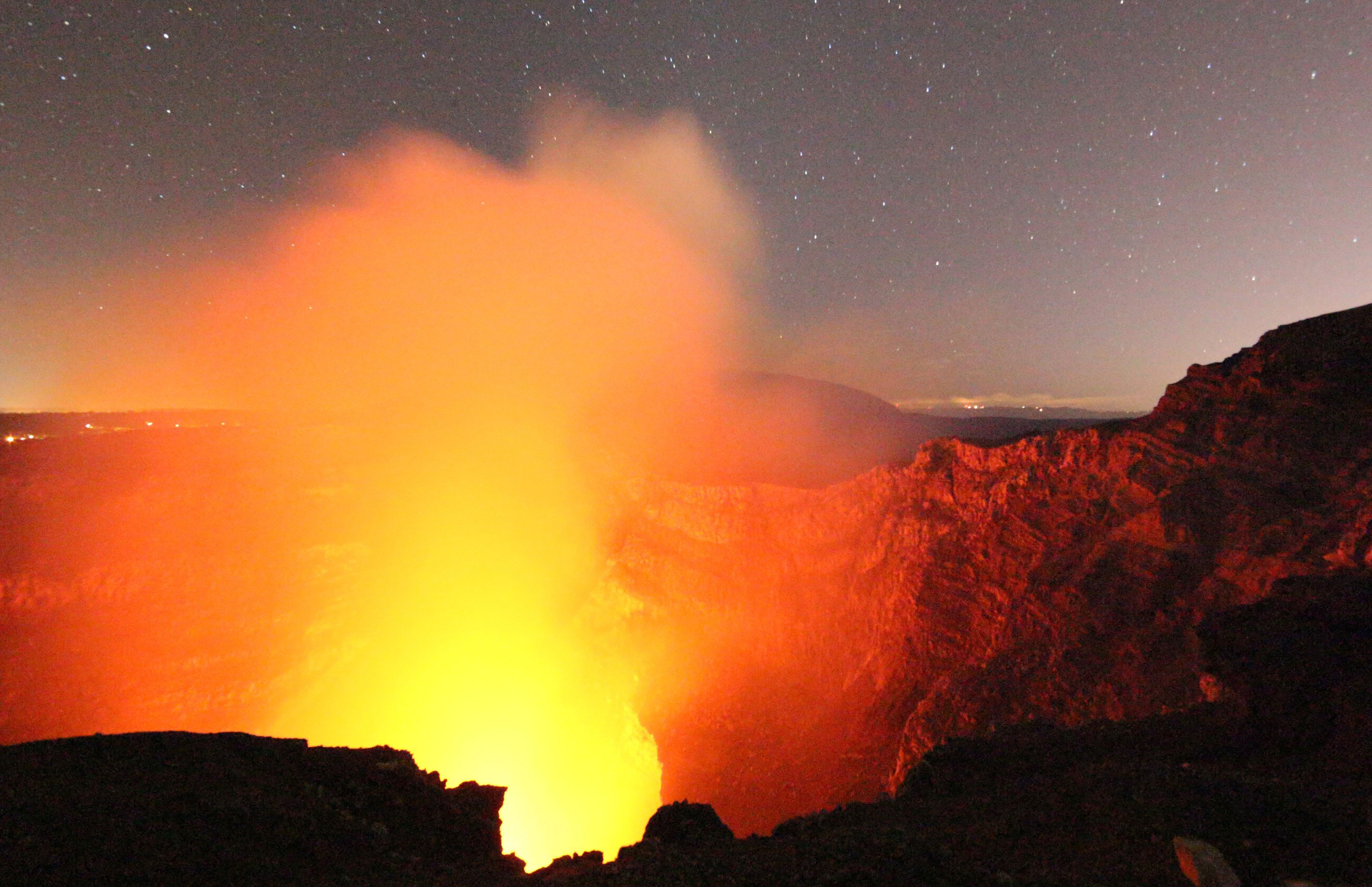 Images From Inside Of Nicaragua S Active Masaya Volcano