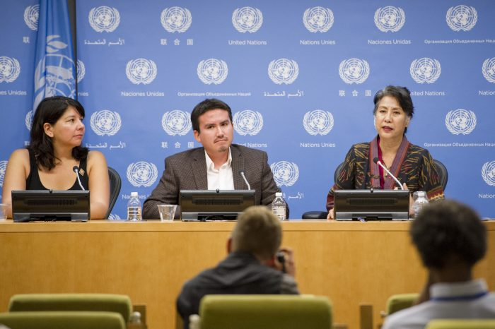 Press Conference: Celebrating the 9th anniversary of the UN Declaration of the Rights of Indigenous Peoples
