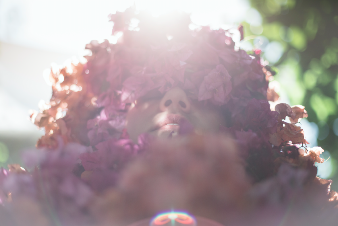 """Cyané Blossoms Into a Flowery Creature in the Hypnotic Video for """"Stand Sol"""""""