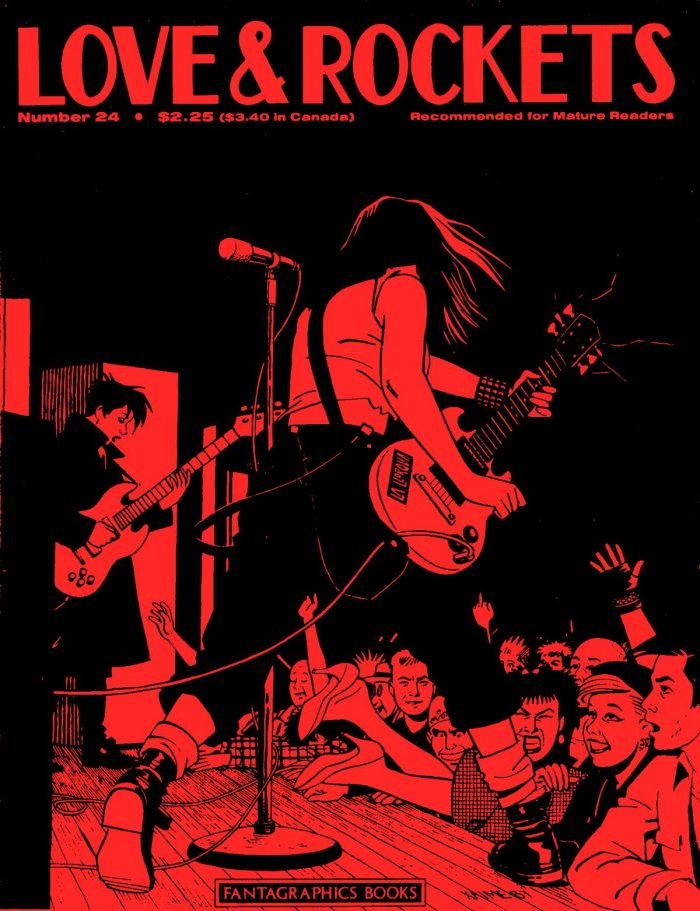 Love and Rockets, Vol.1 #24