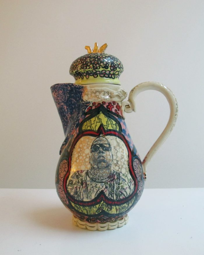 From Lugo's summer teapot series. Photo courtesy of Wexler Gallery