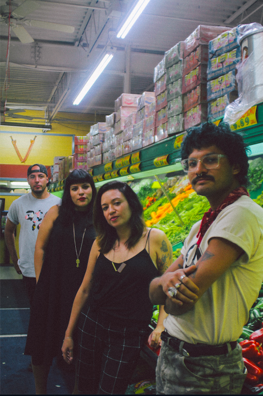La Choloteca founders Randall Ruiz, Josephine Figueroa, Monica Campana, and x Photo by Chalane Bauzo