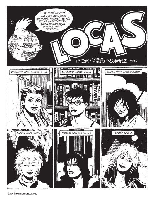 Love and Rockets_comics