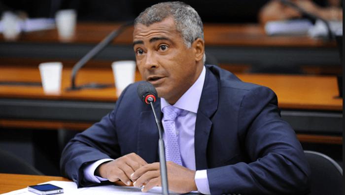 romario brazil soccer senator sports