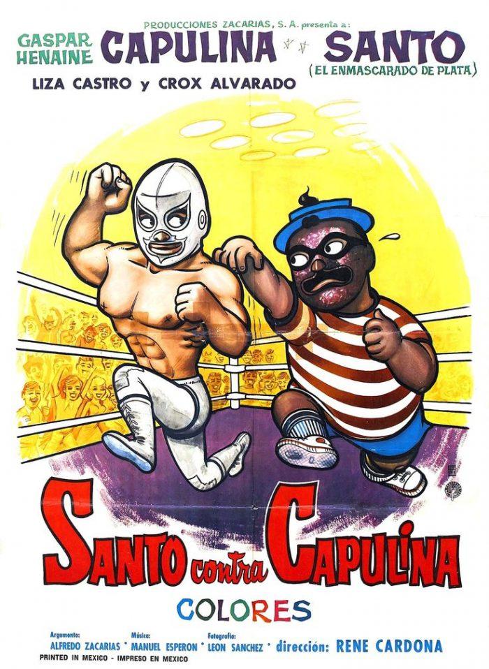 santo capulina poster film