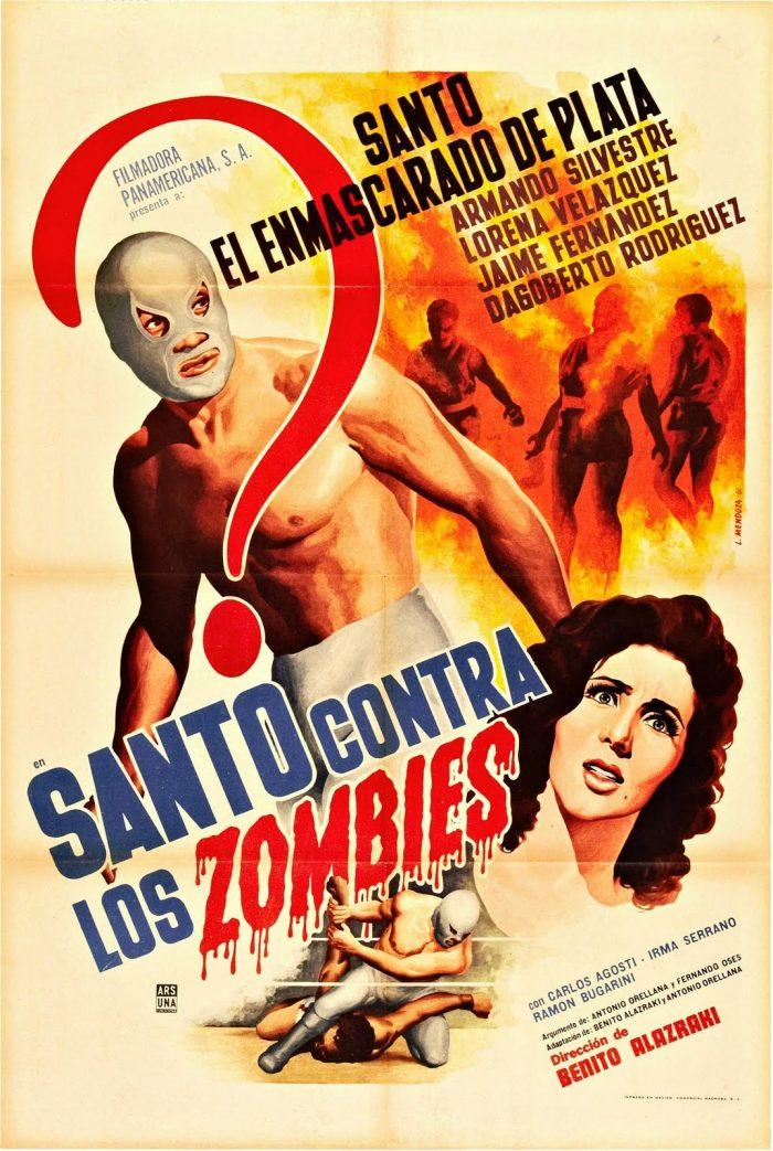 santo contra los zombies poster film