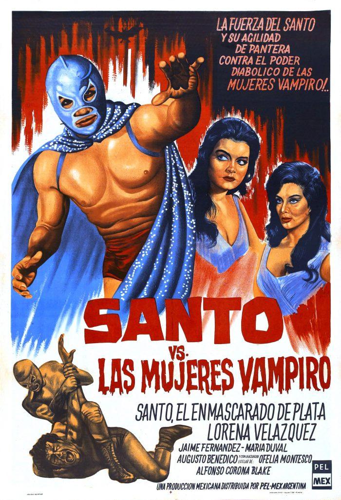 santo vs mujeres vampiro poster film