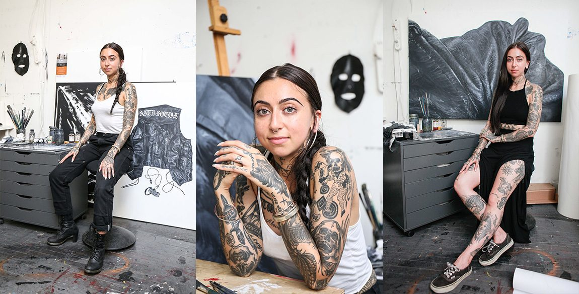 Female tattoo artist sex with strangers