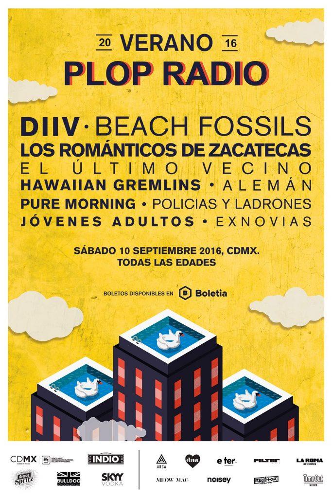 verano plop radio_music_flyer