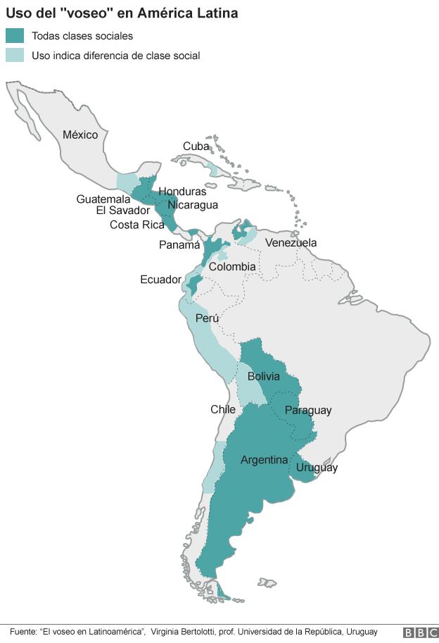 voseo map_culture_BBC