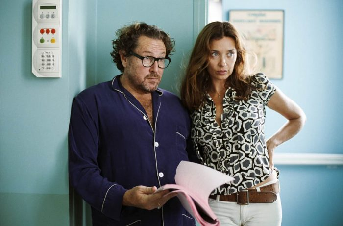 Julian Schnabel and Olatz López Garmendia