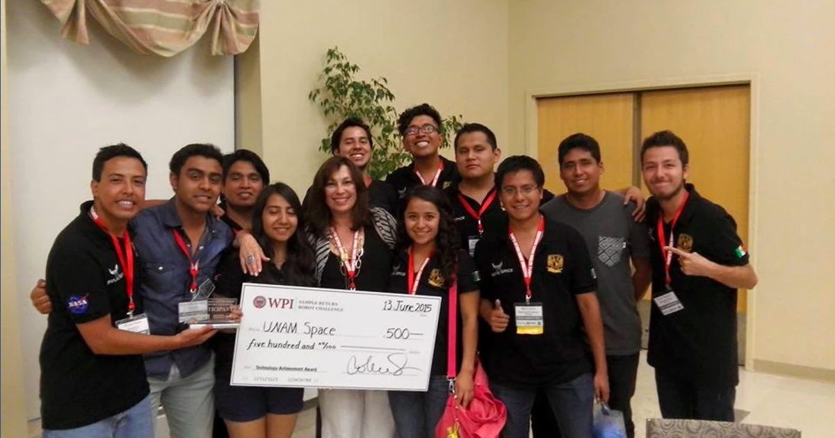 This Mexican College Robotics Team Just Owned a NASA Competition