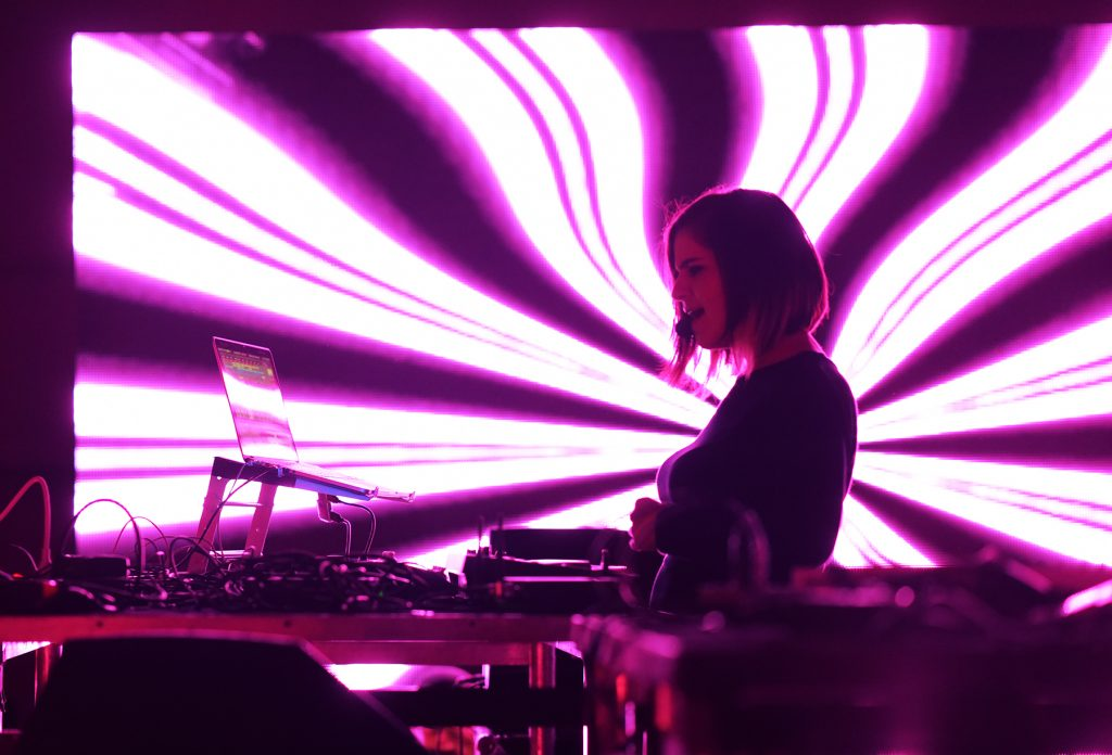 Cyané at Mutek.MX 2016. Photo by Oscar Villanueva