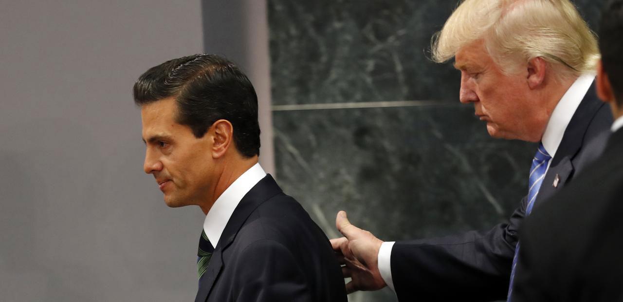 Enrique Peña Nieto on Inviting Trump to Mexico: My Bad