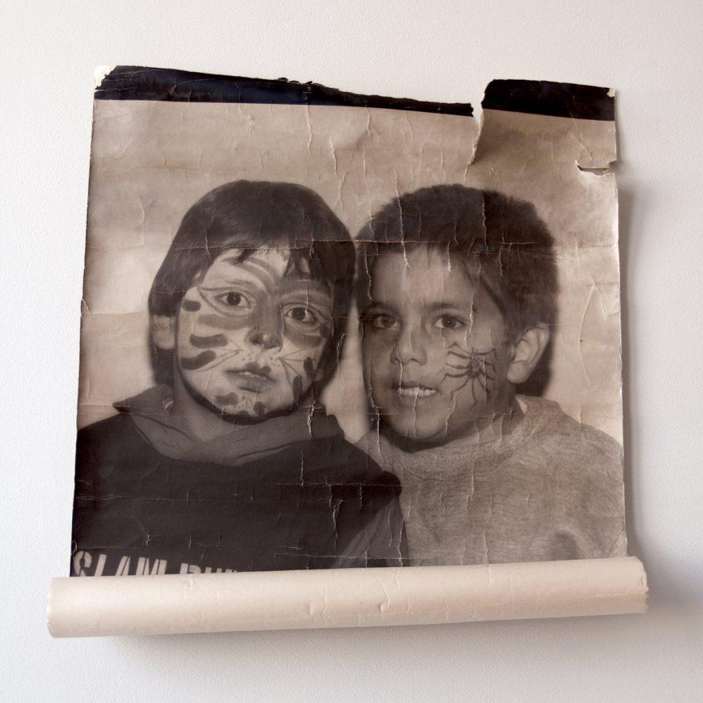 Album artwork for Helado Negro's 'Double Youth.'