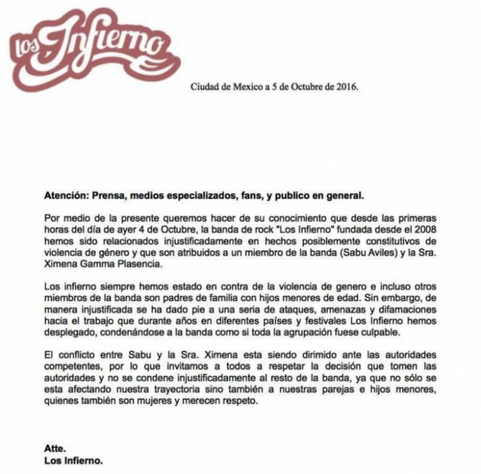los-infierno-press-release_music
