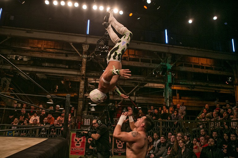 Lucha Underground is Going On Tour With Live Dates in Phoenix, Houston and San Diego