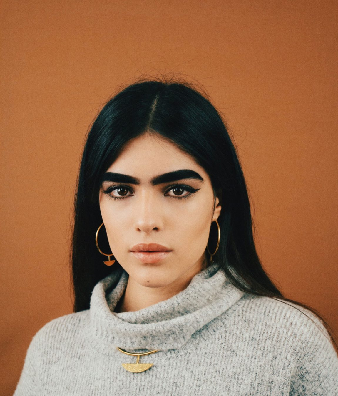 17 Year Old Puerto Ricans Eyebrows Launched Her Modeling Career