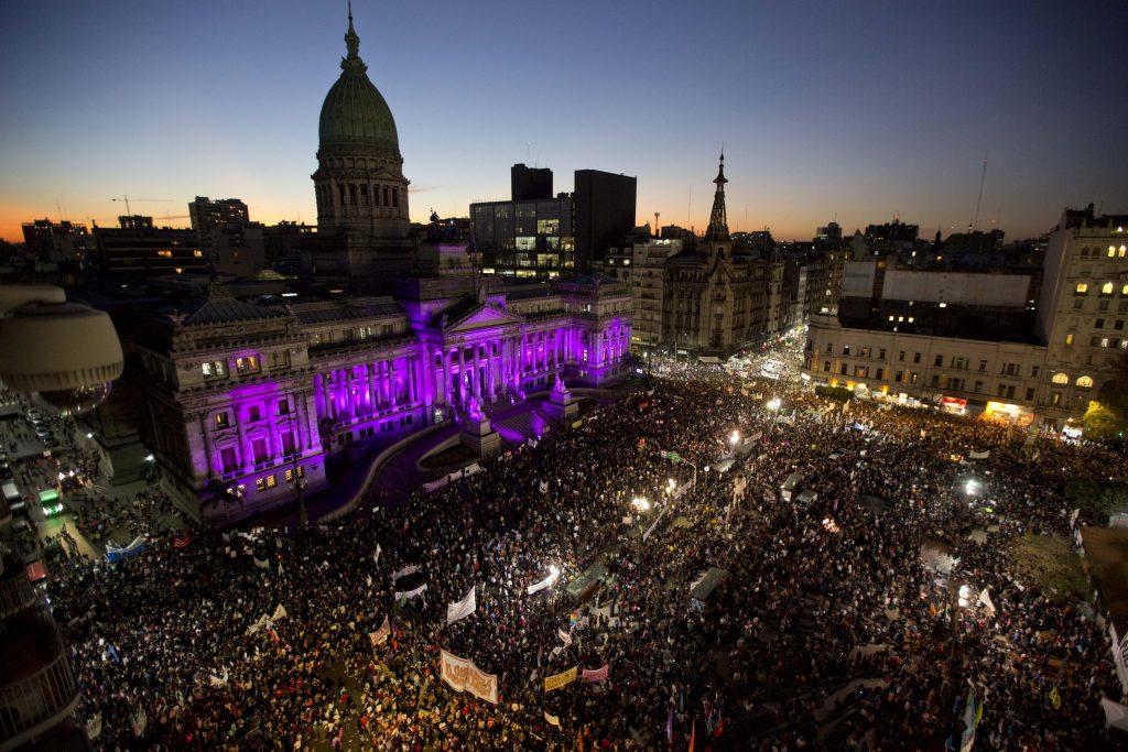 Ni Una Menos protest in Buenos Aires