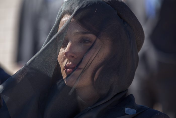 """Natalie Portman as """"Jackie Kennedy"""" in JACKIE. Photo by William Gray. © 2016 Twentieth Century Fox Film Corporation All Rights Reserved"""