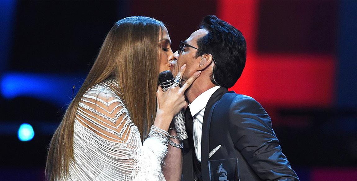 Marc Anthony Goes on Kissing Spree to Make Us Forget That JLo Kiss