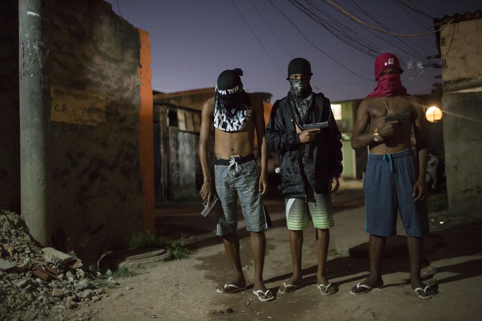 Football brings hope to favela youth