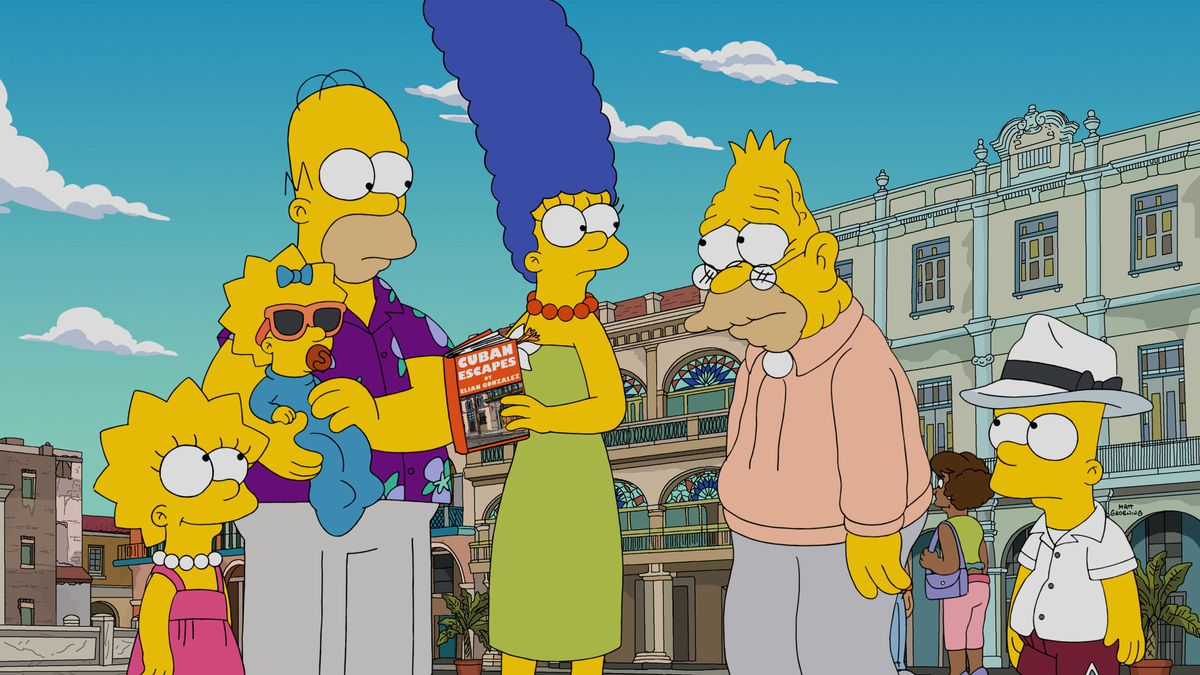 In This Hilarious Episode, 'The Simpsons' Go to Cuba Because Grandpa Abe Needs Medical Care