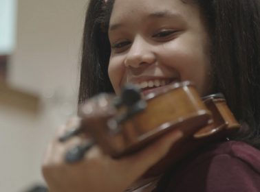 How a Donated Violin Led Brianna Perez to an Unlikely Friendship With a Holocaust Survivor & an Oscar-Nominated Doc