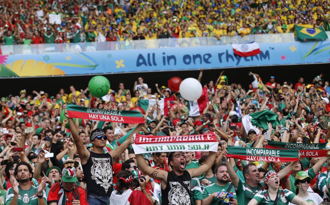 Latino Sports Fans Soccer