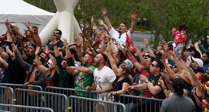Canelo boxing fans