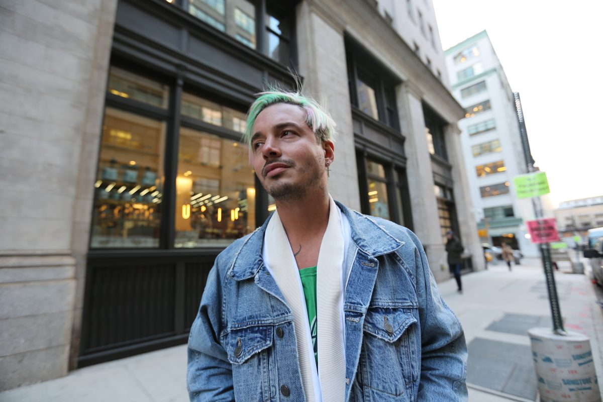 Reggaetón Meets Dior: New York Fashion Week With J Balvin