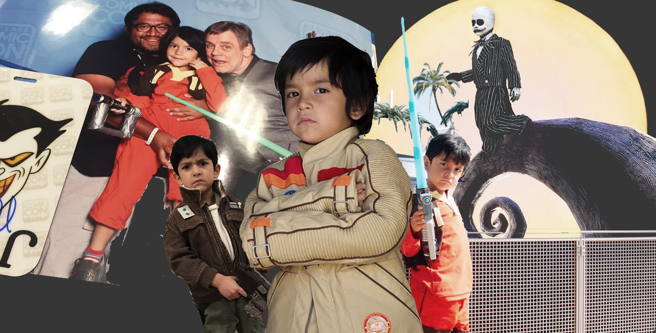Meet the Adorable 5-Year-Old Who Cosplays as Diego Luna's 'Star Wars' Character