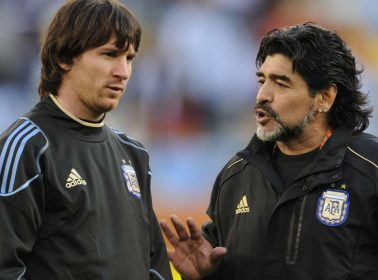 "Diego Maradona Calls Lionel Messi a ""Teddy Bear,"" Says He'll Appeal to FIFA For Shorter Ban"