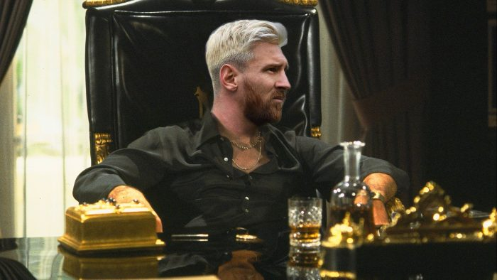 Messi Scarface Cocaine