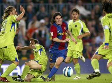 """10 Years After His Own """"Goal of the Century,"""" Lionel Messi Still Can't Escape Maradona's Shadow"""