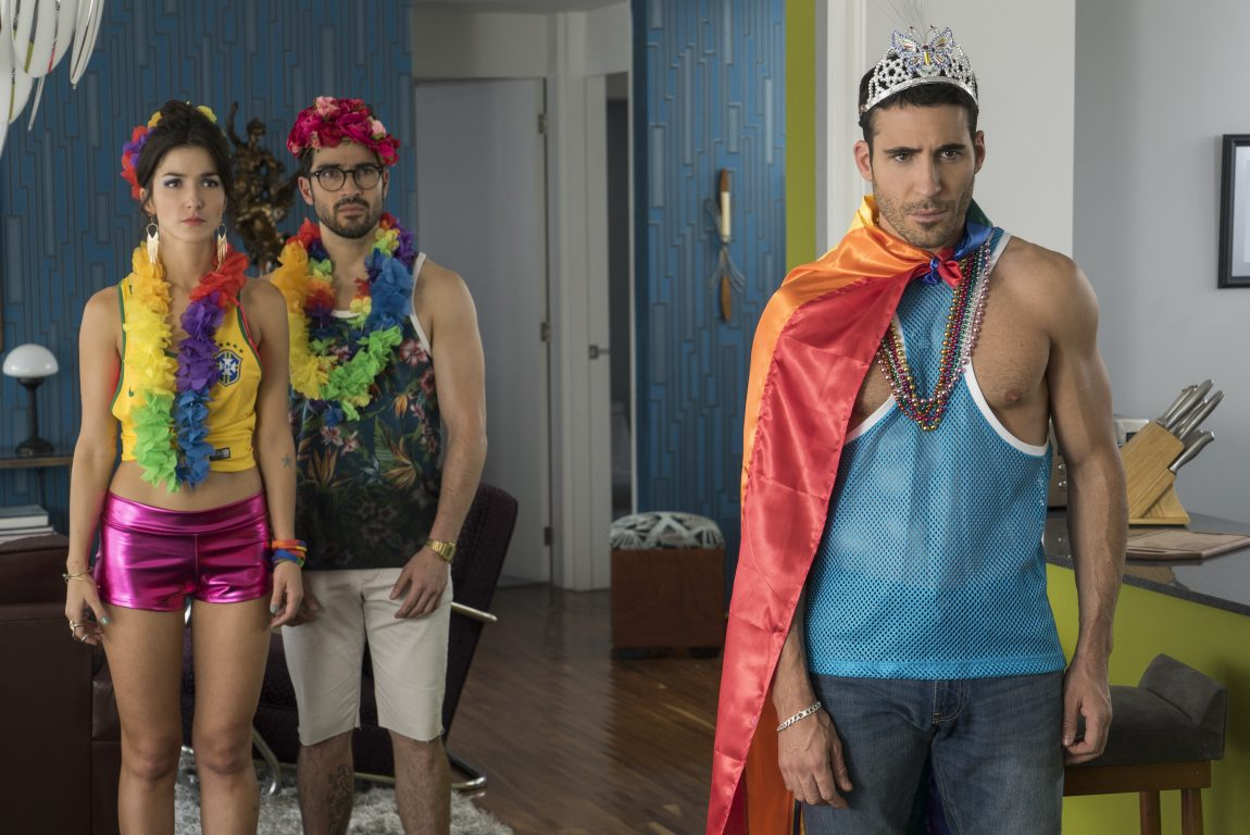 Miguel Angel Silvestre On Filming During São Paulo Pride for