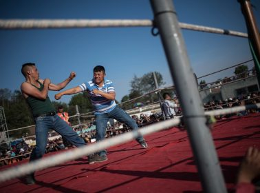Every Year, Hundreds of Guatemalans Celebrate Good Friday By Beating Each Other Up