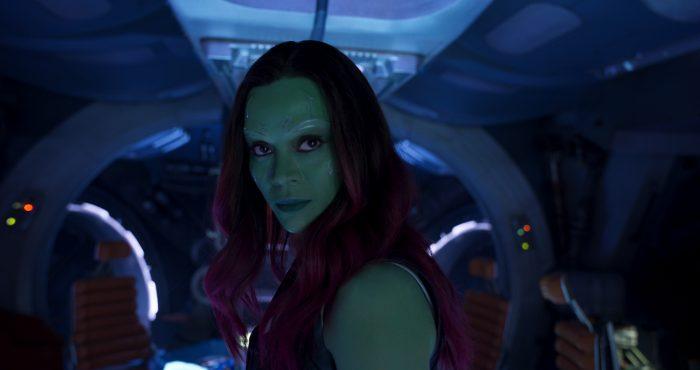 Zoe Saldaña 'Guardians Of The Galaxy Vol. 2