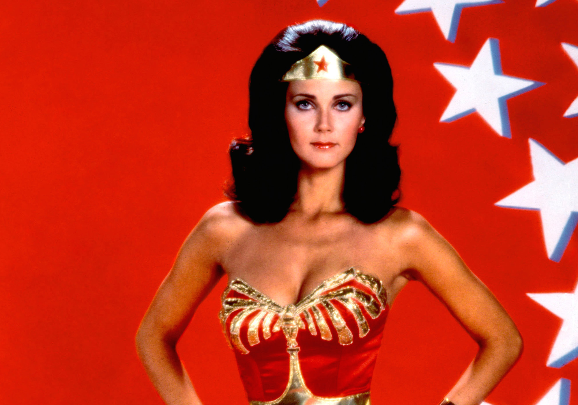 A Look Back at Lynda Carter's Insane Stuntwork on 1970's 'Wonder Woman'