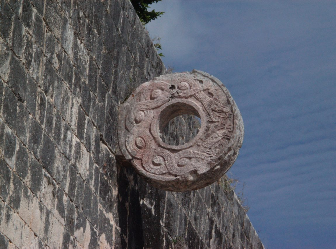 archaeologists uncover aztec ball court ruins in the heart of mexico